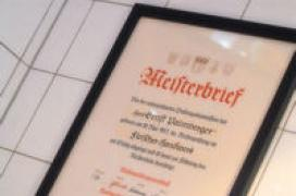 Palmberger Meisterbrief